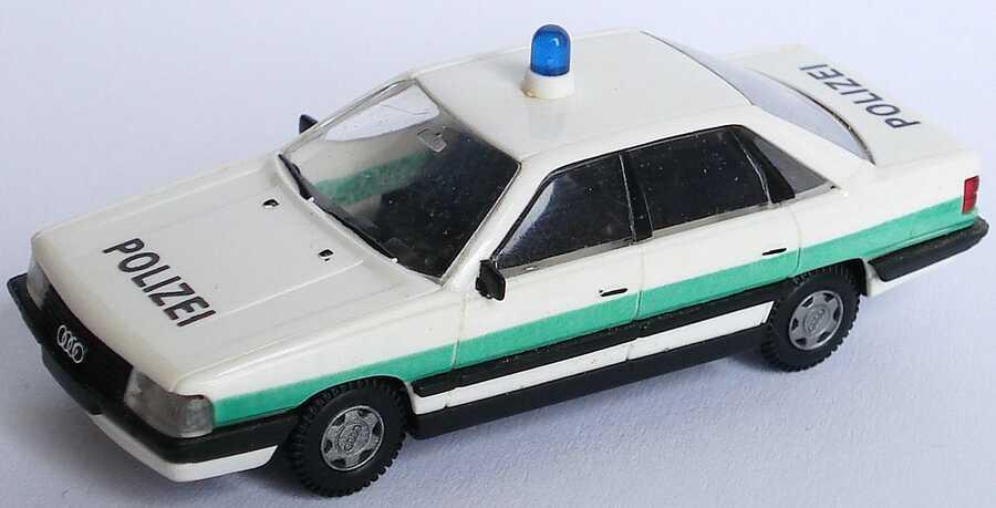 Foto 1:87 Audi 200 C3 Polizei bayrisch Details bemalt - Rietze
