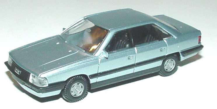 Foto 1:87 Audi 200 blausilber-met. Rietze