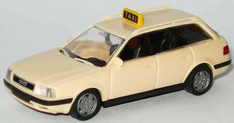 Foto 1:87 Audi 80 Avant Taxi Rietze 30500