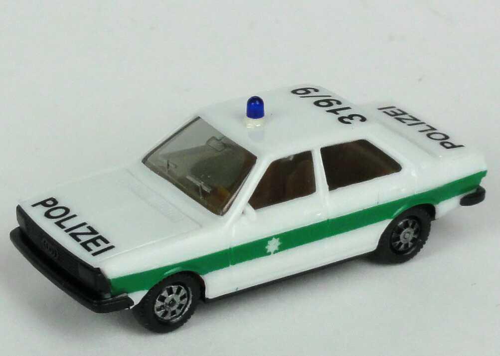 Foto 1:87 Audi 80 GTE Polizei bayrisch 319/9 (IA beige) herpa 4041