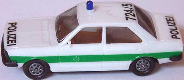 Foto 1:87 Audi 80 GTE Polizei bayrisch 724/5 (IA beige) herpa 4041/03A