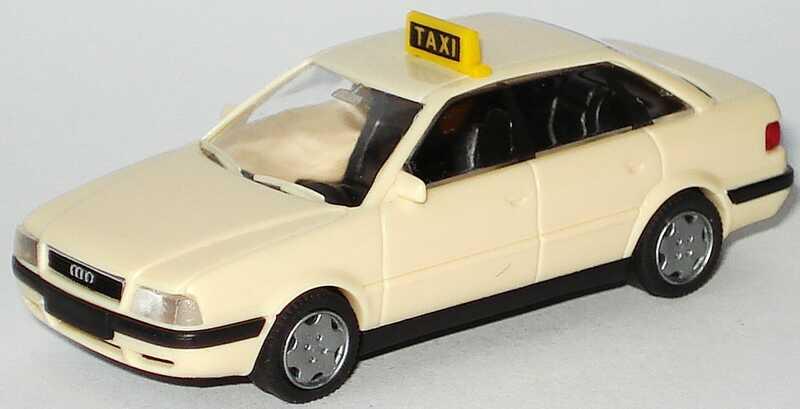Foto 1:87 Audi 80 Mod. ´92 Taxi Rietze