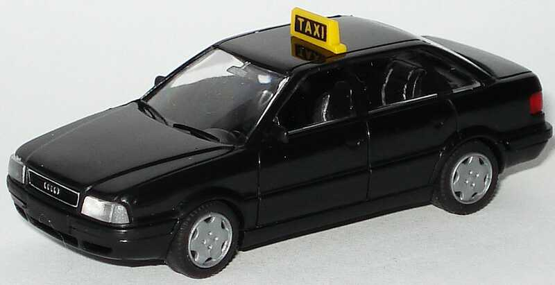 Foto 1:87 Audi 80 Mod. ´92 Taxi schwarz Rietze