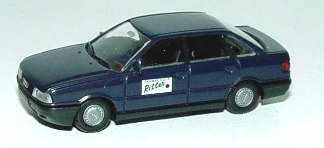 Foto 1:87 Audi 80 dunkelblau Fahrschule Ritter Rietze