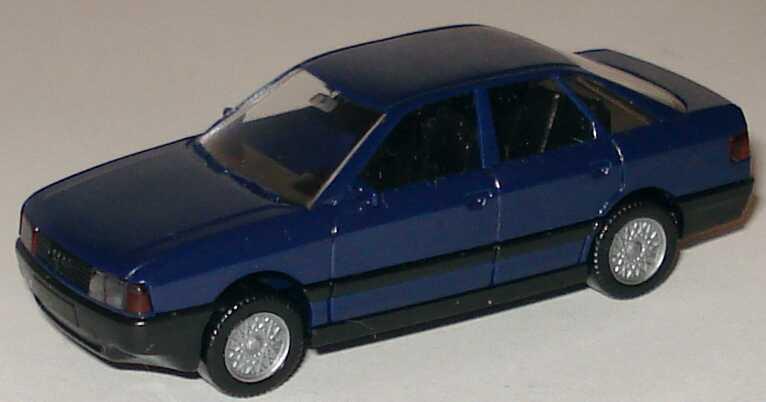 Foto 1:87 Audi 80 dunkelblau Wiking 1210214