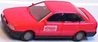 Foto 1:87 Audi 80 rot Fahrschule Krieger Rietze