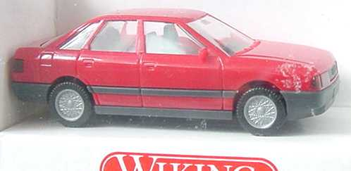 Foto 1:87 Audi 80 rot Wiking 12100