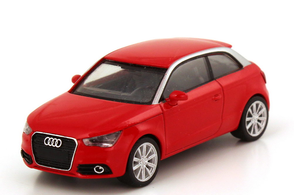 Foto 1:87 Audi A1 2010 misanorot herpa 501.10.010.22