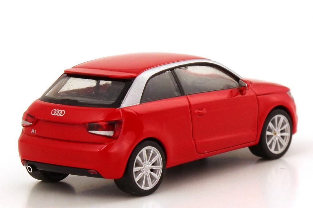 Foto 1:87 Audi A1 2010 misanorot herpa 501.10.010.22