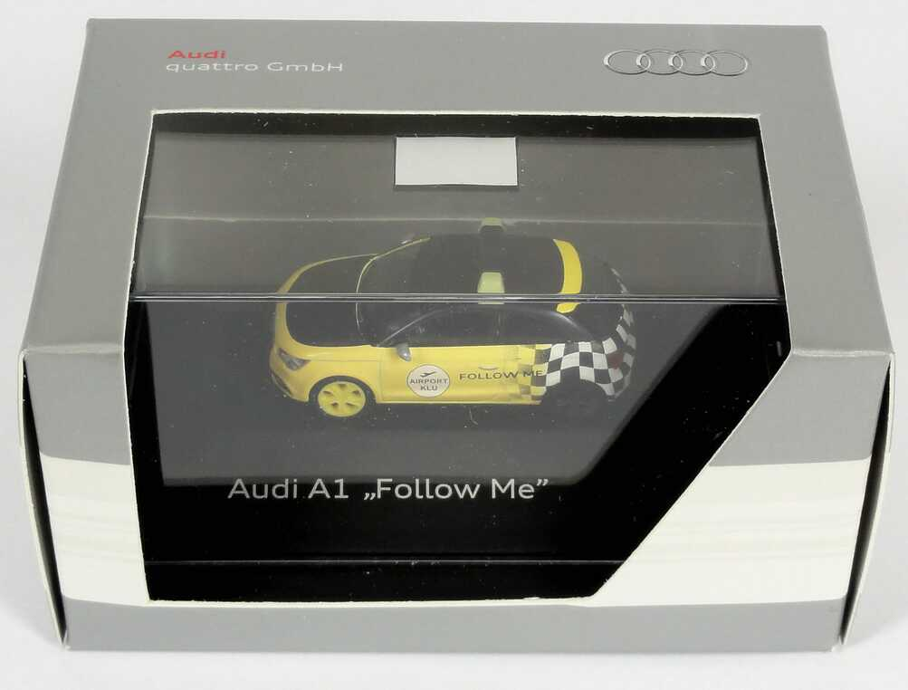 Foto 1:87 Audi A1 Studie Follow Me Werbemodell herpa 5051001032