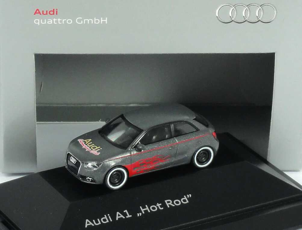 Foto 1:87 Audi A1 Studie Hot Rod Werbemodell herpa 5051001052