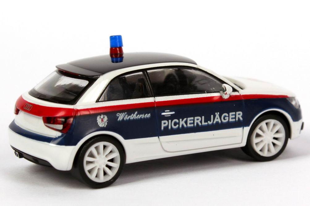 Foto 1:87 Audi A1 Studie Wörthersee 2010 Pickerljäger Werbemodell herpa 5051001072