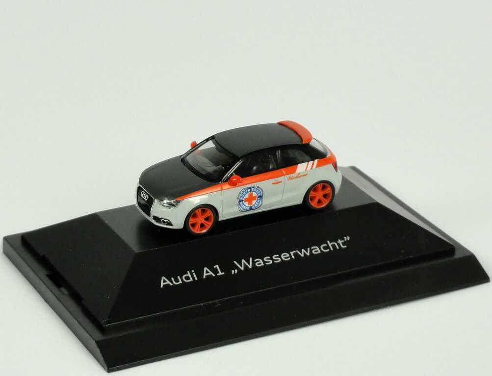 Foto 1:87 Audi A1 Studie Wasserwacht Werbemodell herpa 5051001042