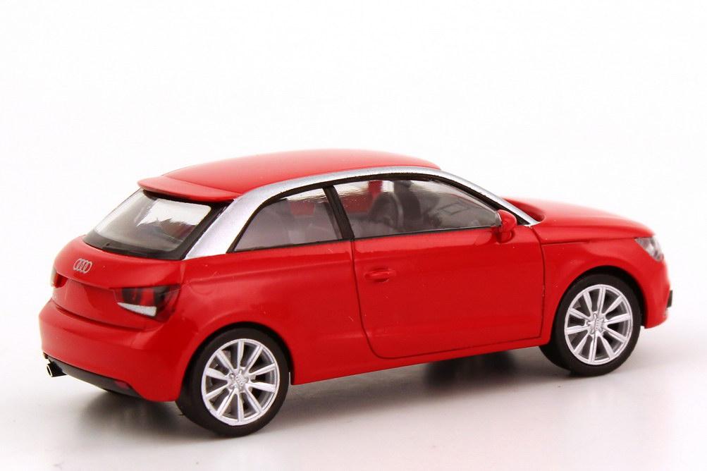 Foto 1:87 Audi A1 misanorot Werbemodell herpa 5011001022