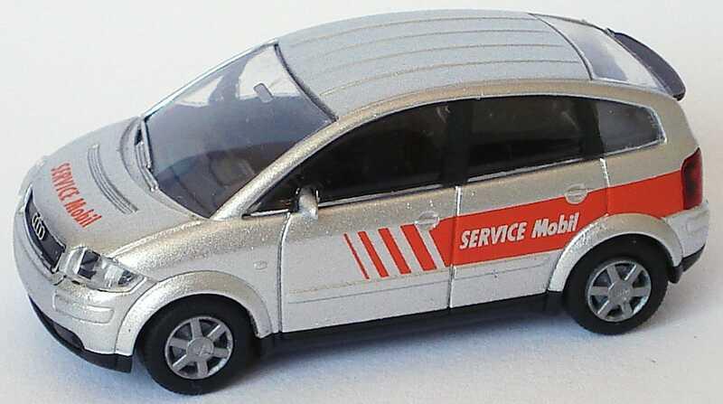 Foto 1:87 Audi A2 Service Mobil Rietze