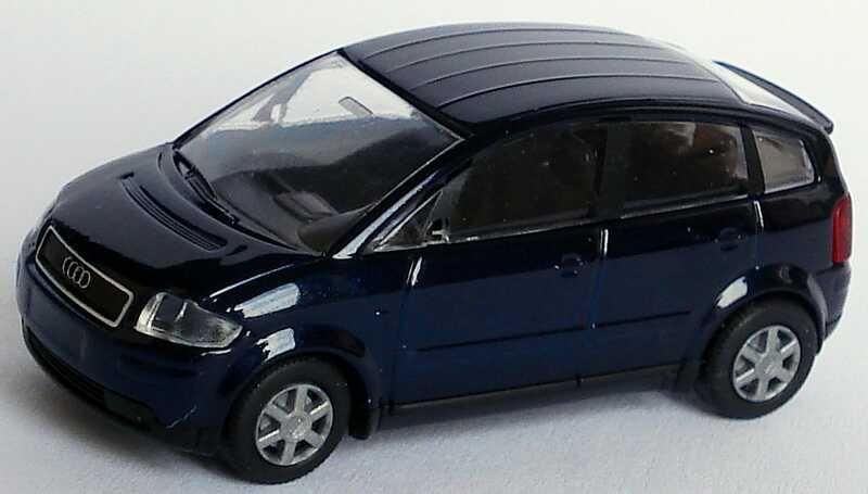 Foto 1:87 Audi A2 dunkelblau-met. Rietze 21000