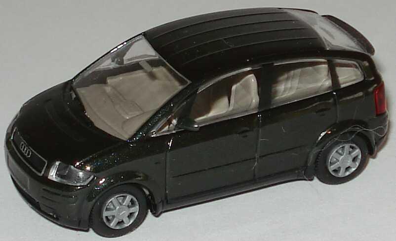Foto 1:87 Audi A2 dunkelgrün-met. Rietze 21000