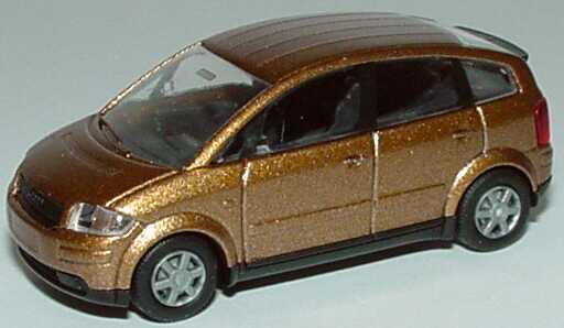 Foto 1:87 Audi A2 goldbraun-met. Rietze 21000