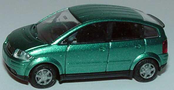 Foto 1:87 Audi A2 lagunenblau-met. Rietze 21000