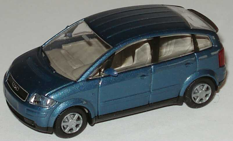 Foto 1:87 Audi A2 petrolblau-met. Rietze 21000
