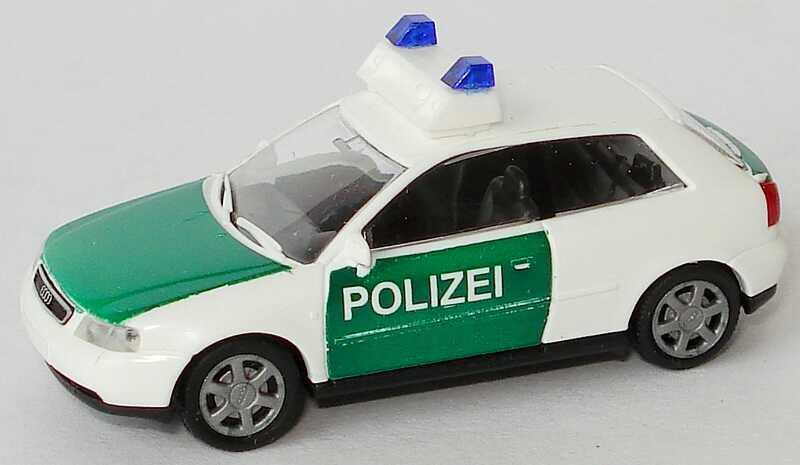 Foto 1:87 Audi A3 3türig Polizei Rietze 50780