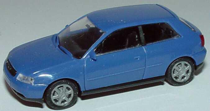 Foto 1:87 Audi A3 3türig blau Rietze 10780