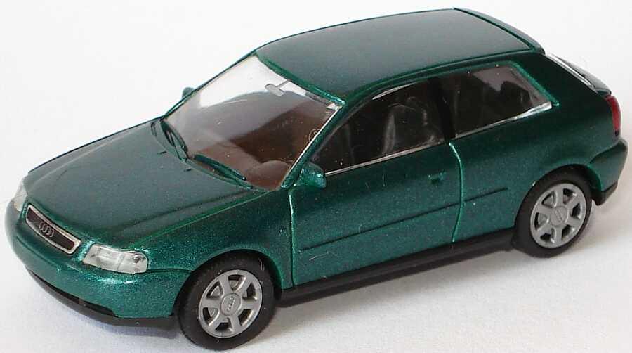Foto 1:87 Audi A3 3türig lagunengrün-met. Rietze 20780