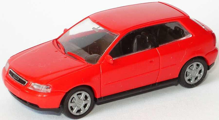 Foto 1:87 Audi A3 3türig laserrot Rietze