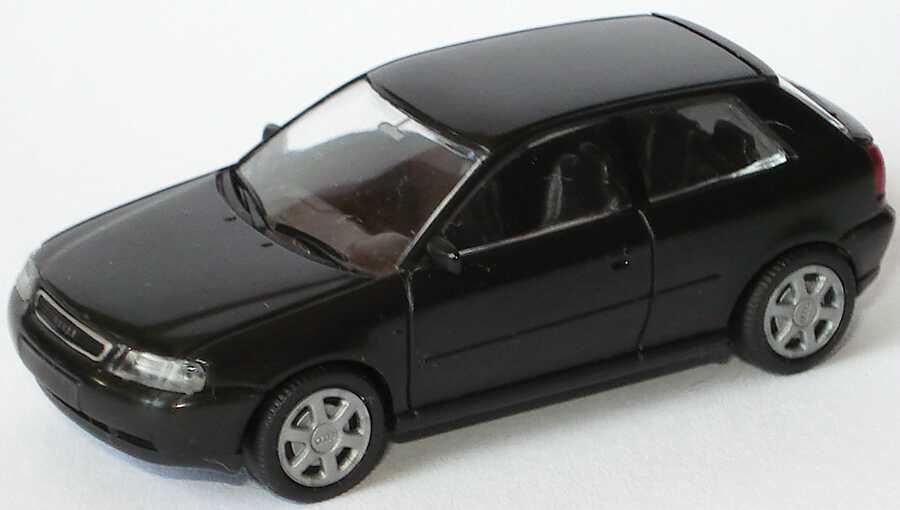 Foto 1:87 Audi A3 3türig schwarz Rietze