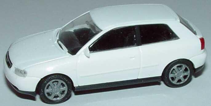 Foto 1:87 Audi A3 3türig weiß Rietze 10780