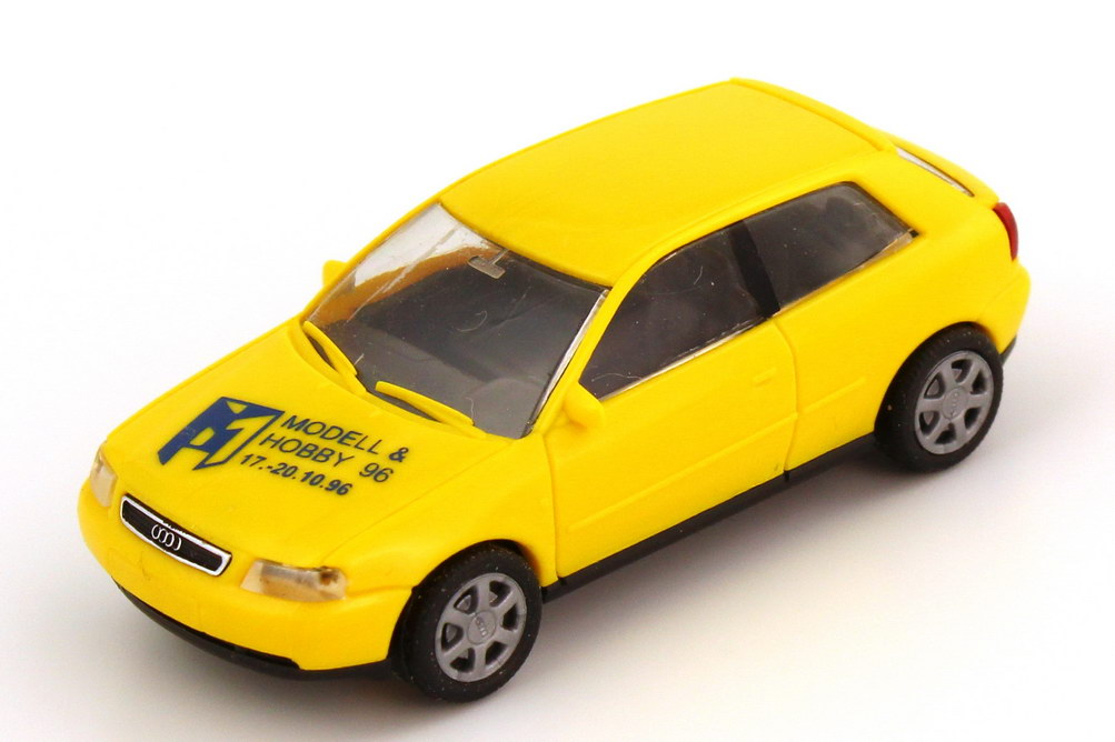 Foto 1:87 Audi A3 (Typ 8L) gelb Modell & Hobby ´96 Rietze