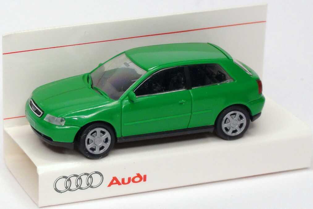 Foto 1:87 Audi A3 kaktusgrün Werbemodell Rietze