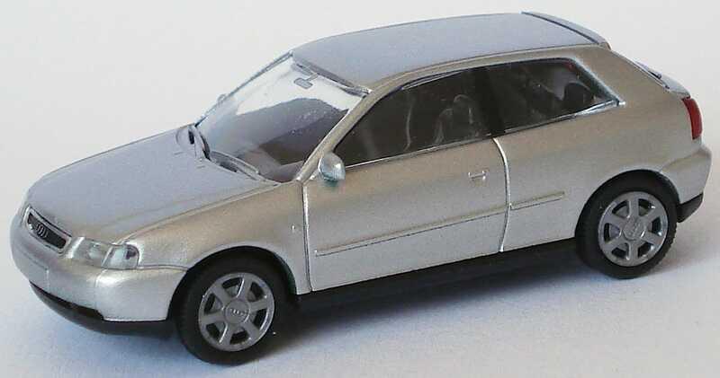 Foto 1:87 Audi A3 silber-met. Rietze 20780