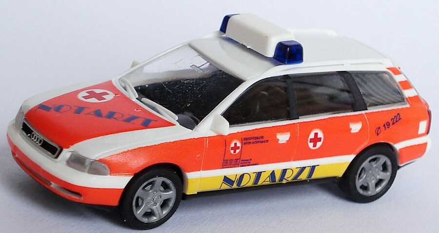 Foto 1:87 Audi A4 Avant (B5) NEF BRK Notarzt, Kreisverband Roth-Schwabach Rietze 50796