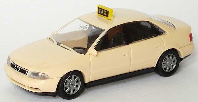 Foto 1:87 Audi A4 (B5) Taxi Rietze