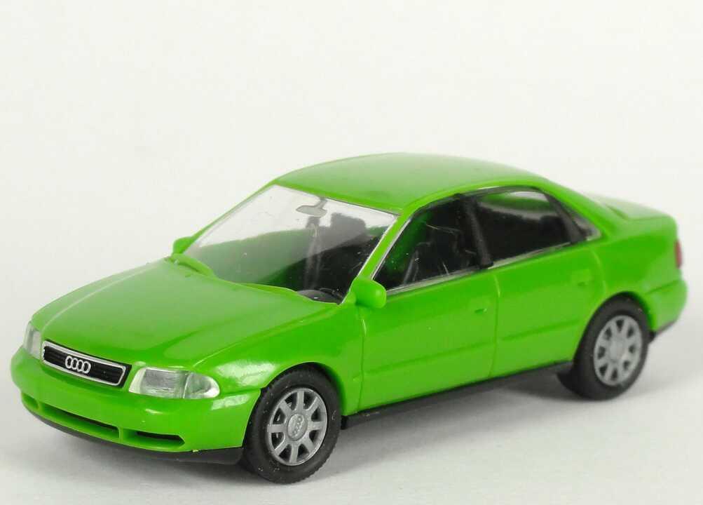 Foto 1:87 Audi A4 (B5) lindgrün Werbemodell Rietze