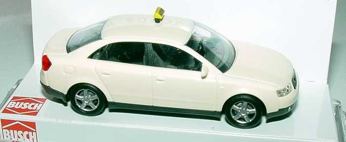 Foto 1:87 Audi A4 (B6) Taxi Busch 49204