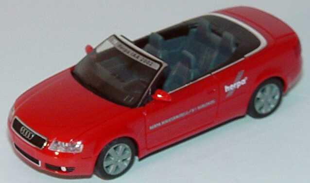 Foto 1:87 Audi A4 Cabrio 3.0 19. Herpa IAA, Spielwarenmesse Nürnberg 2002 herpa