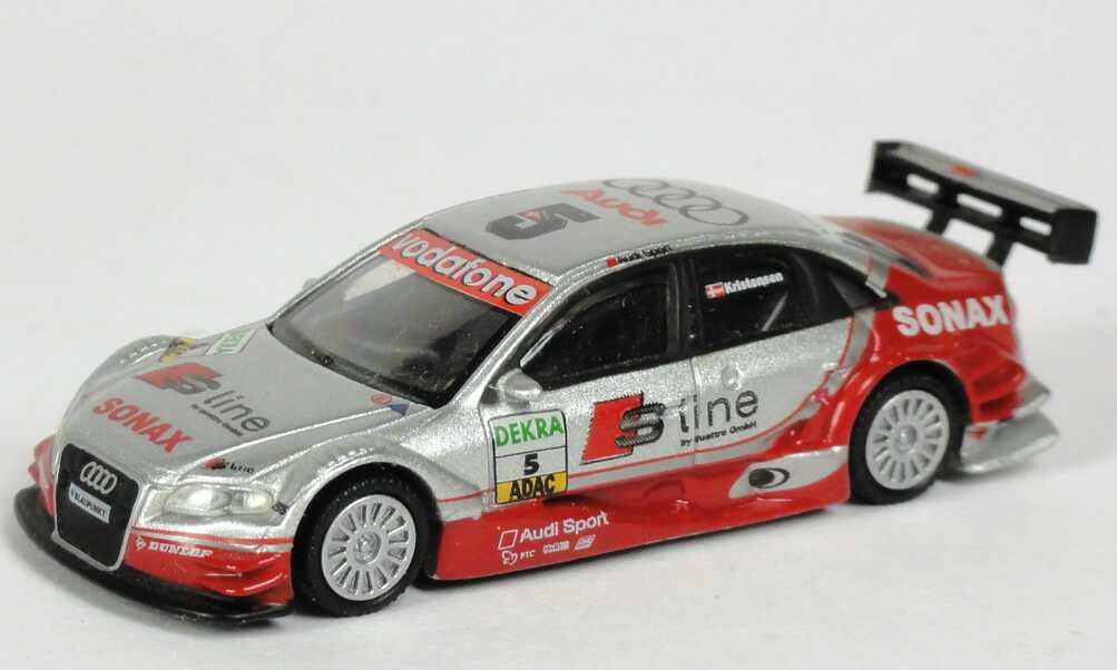 Foto 1:87 Audi A4 DTM 2005 S line Nr.5, Kristensen Schuco 25130
