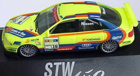 Foto 1:87 Audi A4 STW 1997 Abt Nr.19, Nissen herpa 037358
