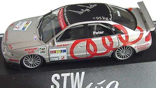 Foto 1:87 Audi A4 STW 1997 Audi Sport Nr.2, Peter herpa 037396