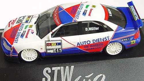 Foto 1:87 Audi A4 STW 1997 Auto Dienst Nr.45, Dirk Müller herpa 037471