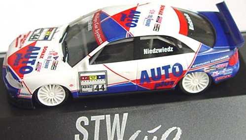 Foto 1:87 Audi A4 STW 1997 Auto Plus Nr.44, Niedzwiedz herpa 037341