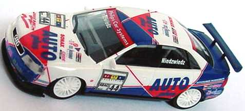 Foto 1:87 Audi A4 STW 1997 Auto Plus Nr.44, Niedzwiedz (ohne Vitrine) herpa 037341