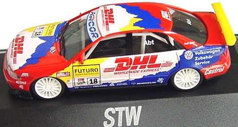 Foto 1:87 Audi A4 STW 1998 Abt, DHL Nr.18, Abt herpa 037662