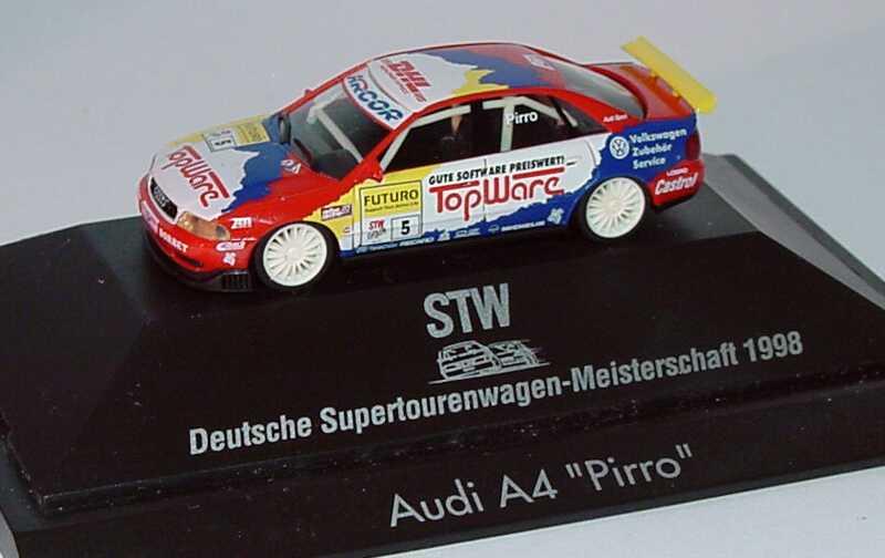Foto 1:87 Audi A4 STW 1998 Abt, TopWare Nr.6, Pirro herpa