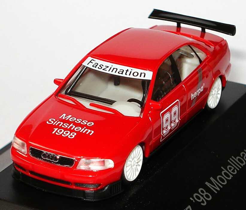 Foto 1:87 Audi A4 STW Herpa, Modellbau Messe Sinsheim 1998 Nr.99 herpa