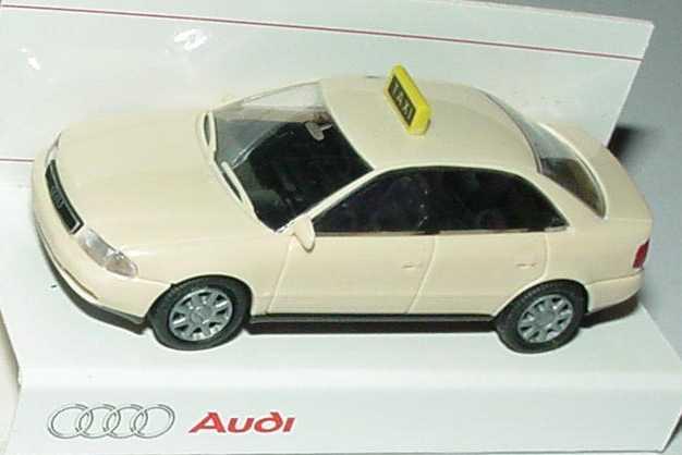 Foto 1:87 Audi A4 (B5) Taxi Werbemodell Rietze