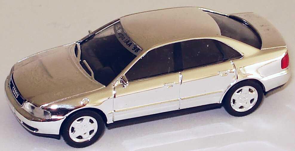 Foto 1:87 Audi A4 (B5) verchromt 15. Herpa IAA ´98 herpa 232432