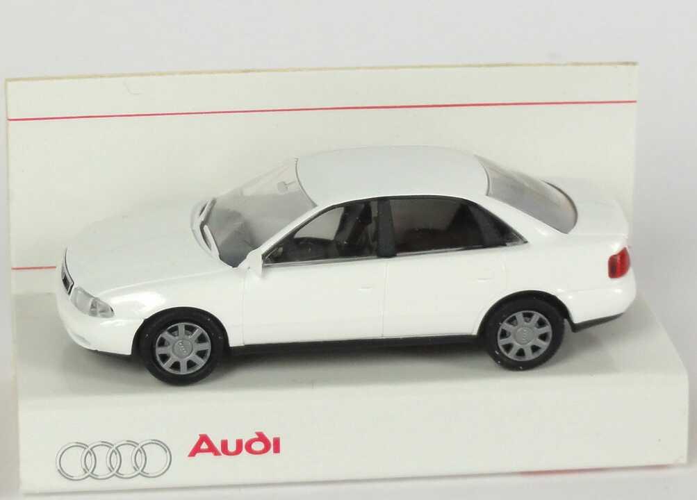 Foto 1:87 Audi A4 (B5) weiß Werbemodell Rietze